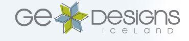 GE Designs Logo