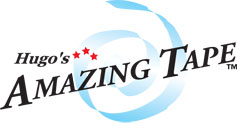 Hugos Amazing Tape Logo