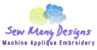 Sew Many Designs Logo