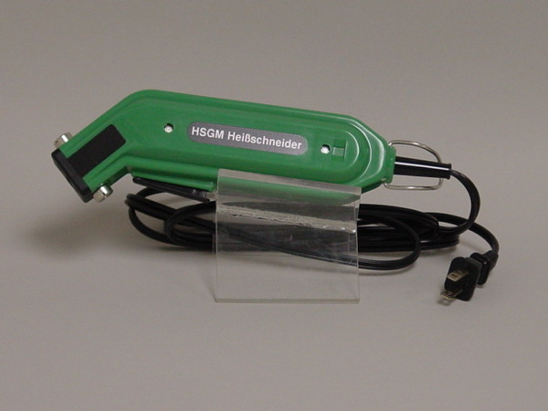 Engle HSGM 60Watt Handheld Electric Hot Knife Cutter plus Heated Cutting Blade, 6´ Cord, for Synthetic Fabrics, Rope, Edges, 2Lb GERMANY HeiBschneidernohtin
