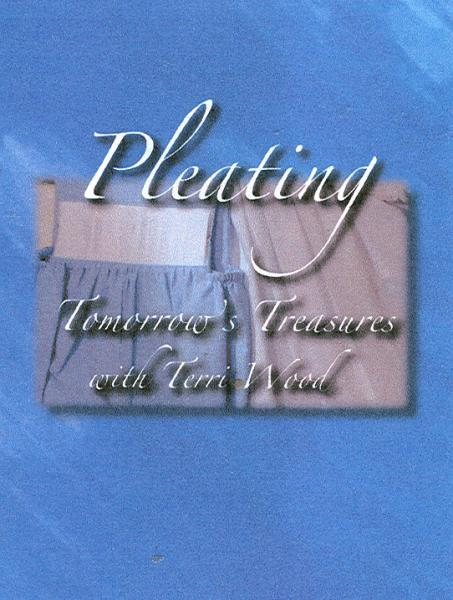 Terri Wood Pleating Tomorrows Treasures Smocking Pleater DVD Video, Comparisons, Care, Preparations, Bishop Dress, Power Pleater Motor Drive Unitnohtin