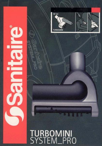 Sanitaire System Pro Turbomini Attachment Tool # SP22nohtin