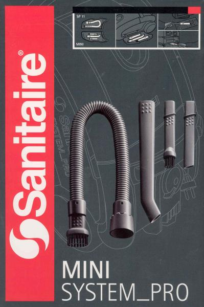 Sanitaire System Pro SP11 Mini Vac Attachment Tools, Nozzles & Brushesnohtin