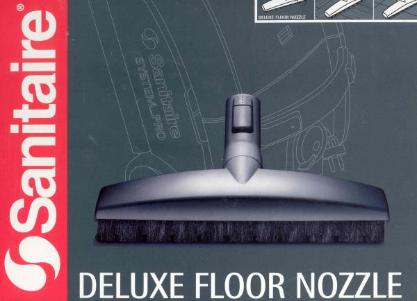 Sanitaire SP23 System Pro Deluxe Floor Nozzle Tool for Hard Floorsnohtin