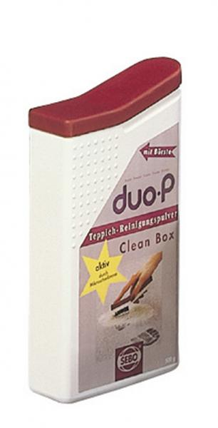 SEBO 0478AM Clean Box Dry Carpet Cleaning Powder 500g for Duo-P Cleaner