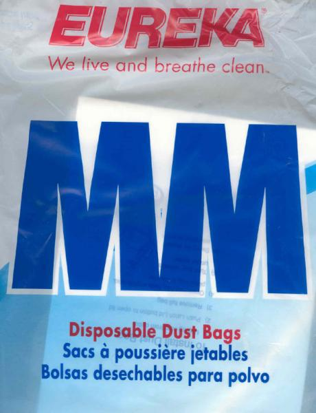 Eureka 60297 Pack 10 MM Bags for Mighty Mite Sanitaire Vacuum Cleanersnohtin