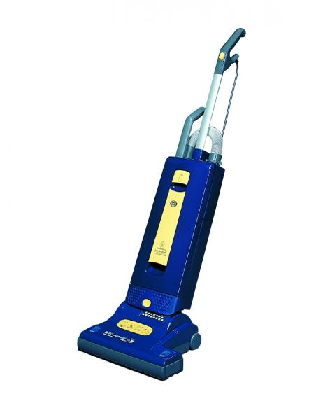 SEBO X5 9587AM Automatic Blue Yellow Upright Vacuum Cleaner, 1300W 10A, Auto Electronic Height Adjustment, Lifetime Belt +10Yr Extended Warranty*nohtin