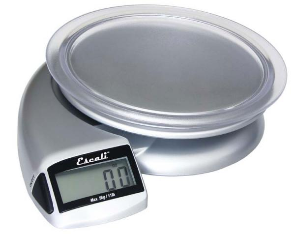 Escali Pennon 115P Multifunctional Digital Scale, 11 lb / 5 kg