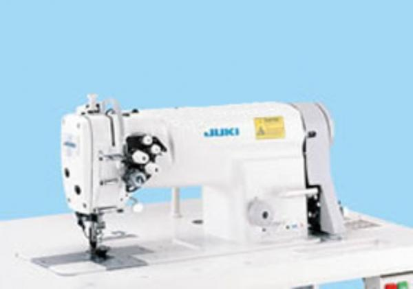 "Juki LH3528 1/4"" Double Needle Feed, Lockstitch Sewing Machine, Standnohtin"
