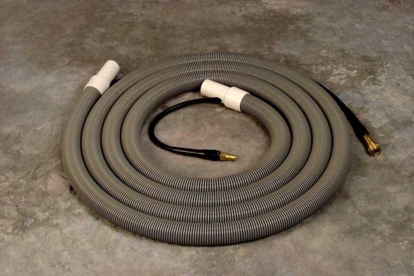 Thermax 30-HAH-12, 30´ Foot Blue Hide-A-Hose for Thermax Commercial DV12 Vacuum Cleaning, Hot Water Injection and Extraction System - HIDEAHOSEnohtin