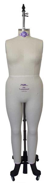 PGM Pro 612L Large Ladies Womens Professional Full Body Dress Formnohtin