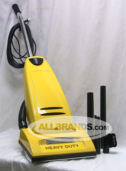 Carpet Pro CPU-1T Upright Vacuum Cleaner +$50 Bags, Belt, Filtersnohtin