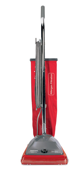 "Sanitaire SC688A Commercial Bagged Upright Vacuum Cleaner 12"", 50´ Cordnohtin"