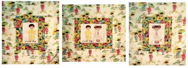 Dalco China Doll Quilt Pattern Boy Applique Multi Format Embroidery Design on CD