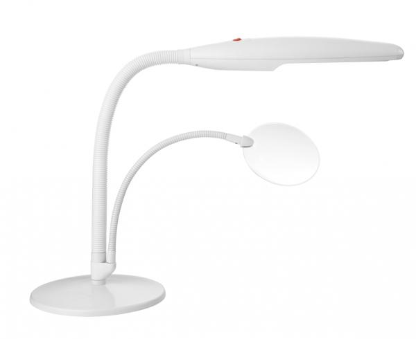 Daylight U23020-01 Table Top Craft Lamp WHITE, 18 Watt, 3 Diopter 5
