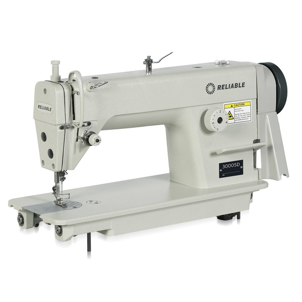 Reliable 3100SD Straight LockStitch Sewing Machine, Servo Motor Power Stand 5500RPM (Replaces 3000SD, MSK-8900M)nohtin