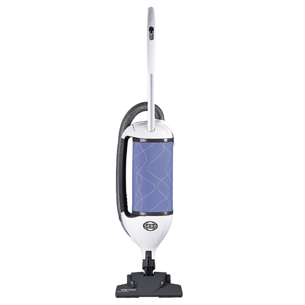 "SEBO Felix Kombi 9824AM Ice Blue Upright Vacuum Cleaner, 11A, 1300W, 102CFM, 68 dBA, 12"" Cleaning Path, 3 Stage S Class Filternohtin"