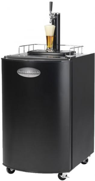 "Nostalgia Electrics KRS-2100 Keg-O-Rator Refrigerated Beverage Keg & CO2 Dispenser on 4 Casters 20.3x26x32""H, Uses Full Size (1/2 barrel) or Pony Kegsnohtin"