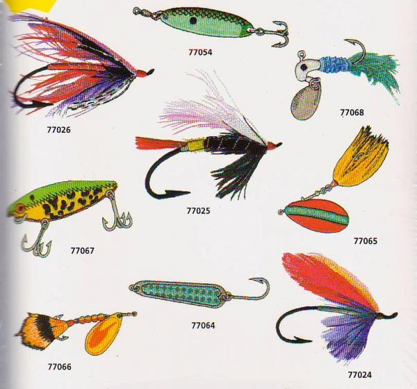 Amazing Designs / Great Notions 1131 Flies and Lures Collection I Multi-Formatted CDnohtin