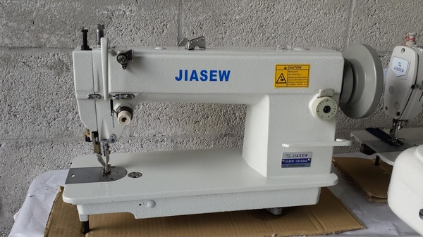 Jiasew CS-0302 (Gemsy G0718 Hoseki HK628) Walking Foot Sewing Machine, Unassembled Power Standnohtin