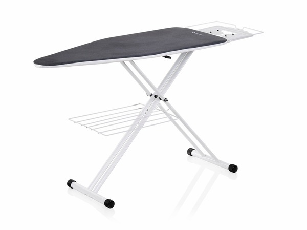 "Reliable The Board 200IB/C60 19x48"" Ironing Board Pressing Table, 30-38"" Height Adjustment, Garment Tray, Iron Rest, Galvanized Steel Mesh Top, 21 Lbsnohtin"