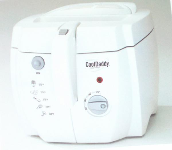 Presto 05443 CoolDaddy Cool Touch Deep Fryer REFURBISHEDnohtin