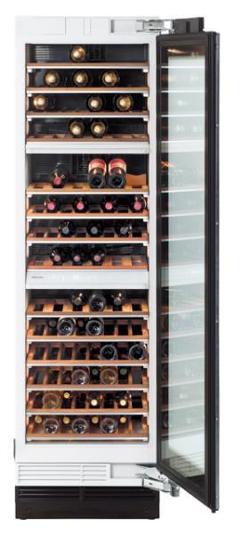 "Miele KWT1601SF Wine Storage Unit, 24"", Prefinished, Right Hinge"