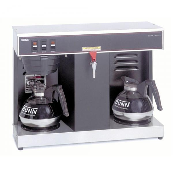 BUNN ® VLPF 12-Cup Automatic Commercial Coffee Brewer w/2 Warmers
