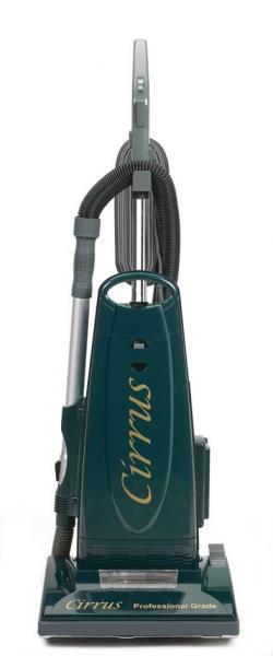"Cirrus C-CR79 Upright HEPA Vacuum Cleaner, 14"" Metal Brushroll & Plate +10Yr Parts and Labor Warrantynohtin"