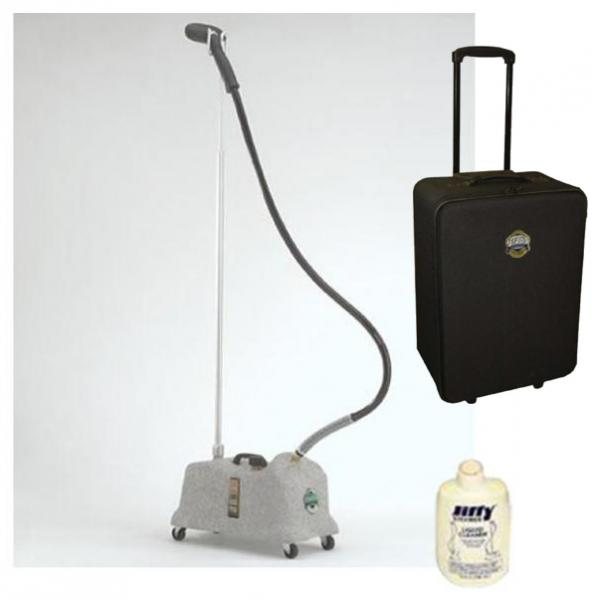 Jiffy COMBO J-4000 Proline Garment Steamer +0890 Travel Casenohtin