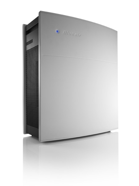 Blueair 450E Go HEPASilent Eseries Air Purifier Cleaner, Electronic Sensors & Remote, 395SqFt, 5x/Day, FilterChange OnOffTimer AutoSpeed 10YrWnty 33Lb BlueAir450E
