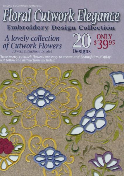 Dakota collectibles floral cutwork elegance