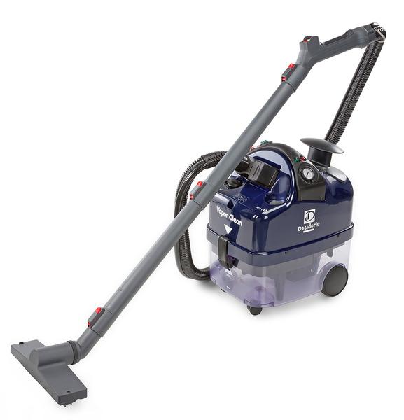 Vapor Clean DESIDERIO Desi Auto Continuous Fill Steam Cleaner, Vacuum Extractor for Hard Floorsnohtin