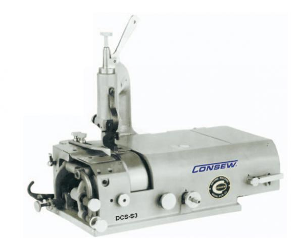 "Consew DCS-S4 Leather Skiving up to 2"" Wide, Machine & KD Power Stand, Knife Shoe & Plate, Sharpener, Waste Removal, Grind Leather, Vinyl, Shoesnohtin"