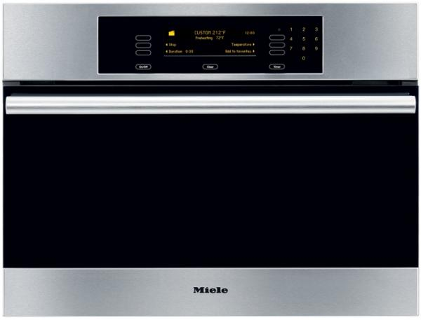 "Miele DG4082 Convection Steam Oven DEMO Convection Steam Oven, 24"" Steam Oven with Convection Steam Cooking, Navitronic Touch Control Pad, Multi-Tier"