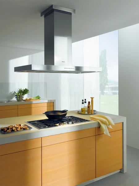 "Miele DA424V Island Ventilation Hood, 48"", D�cor Series, Adjustable Height"
