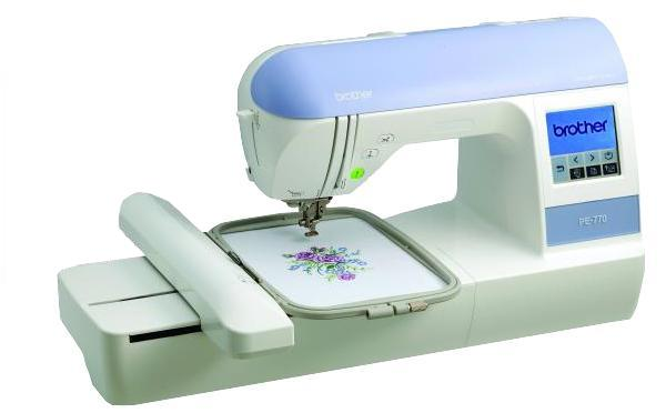 "Brother RPE-770 5x7"" Embroidery Machine USB +Card Ports, 136Designs, 120 Borders Frames, 6Fonts, 4 Downloads Edit, Size, Color, Format, 11 Extras=$600nohtin"