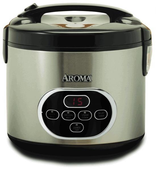 Aroma ARC-930SB 20-cup Sensor Logic™ Rice Cooker