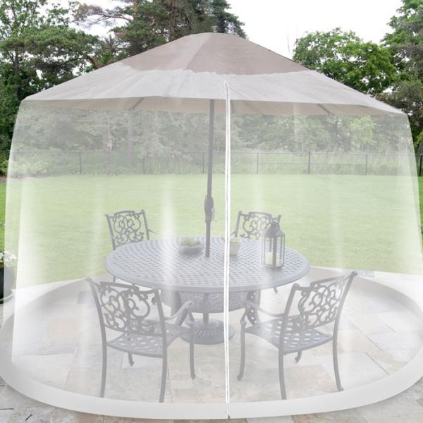 Outdoor Umbrella Table Screen 7.5 ft. Diameter