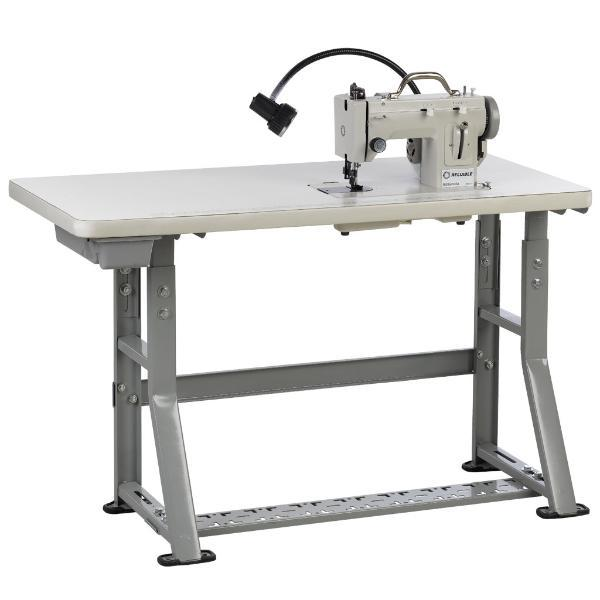 Reliable Barracuda Table 20x48x30H Adjust Metal KLegs Stand Unassembled for Flatbed 14.5x7 Home or Industrial Sewing Machines with Built In Motors