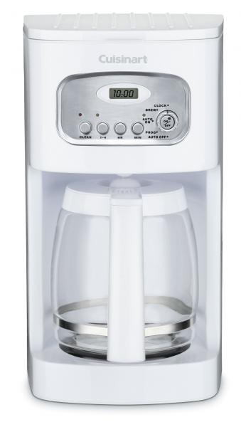 Cuisinart DCC1100 Flavor Brew 12 Cup White Coffeemaker