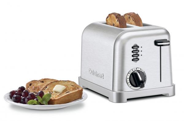 Cuisinart CPT160 Metal Classic 2 Slice Toaster