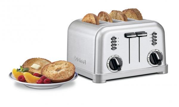 Cuisinart CPT180 Metal Classic 4 Slice Toaster