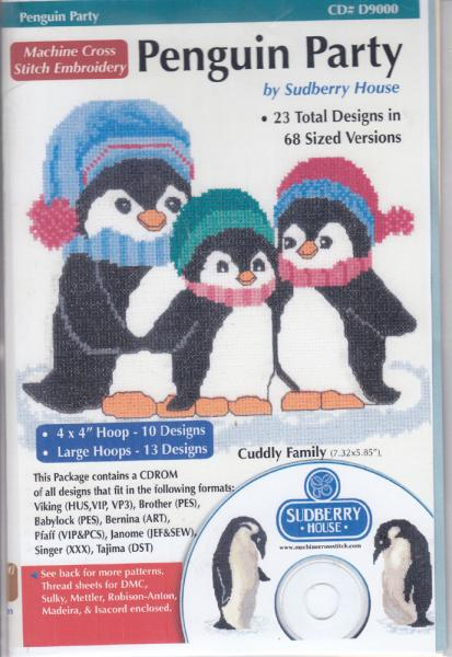 Sudberry House D9000 Penguin Party Multi-Formatted CDnohtin