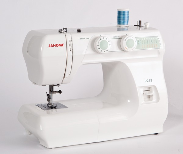 Janome 2212, 12/39 Stitch Functions, Freearm Mechanical Sewing Machine