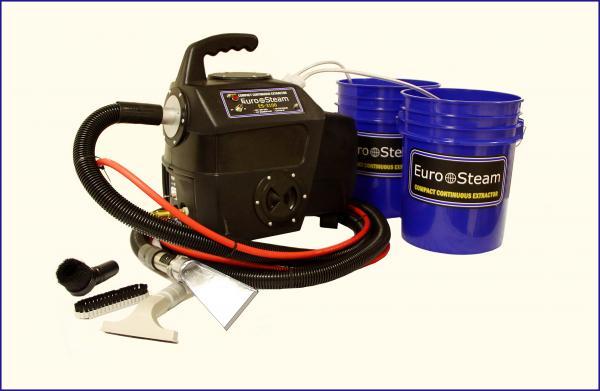 Euro Steam ES3100 Eliminator, 2 Tank Carpet Cleaner Vacuum Extractornohtin