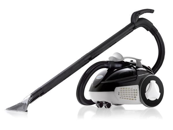 Reliable Enviromate Tandem EV1FS Steam Cleaner, Carpet Inject, Vacuum Extract -Factory Serviced with Same Lifetime Boiler Warranty as Newnohtin