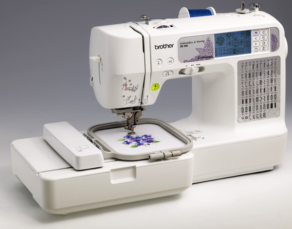 Brother SE400 Sewing 4x4 Embroidery Machine 5Extras Software