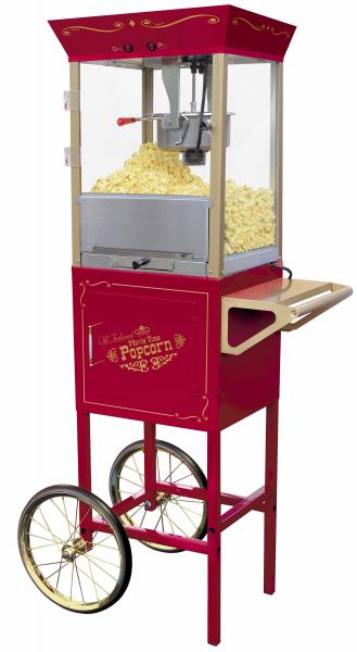 "Nostalgia Electrics™ CCP-600 Vintage Collection™ 59"" Old Fashioned Movie Time Popcorn Cart"