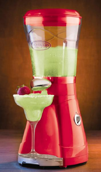 "Nostalgia Electrics Margarator MSB-64 64oz Margarita & Slush Maker 8x8x17"", spout, drip tray, for daiquiris coffees, refreshing chilled blended drinksnohtin"